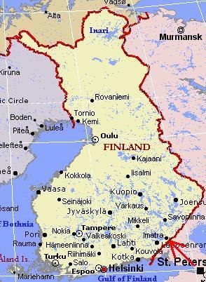kart finland 4 Runder på Imatra kart finland